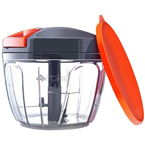 Artikel Manual Chopper with Storage Lid | Pull Food Processor | Chops...