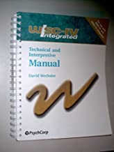 WISC-IV Integrated: Technical & Interpretive Manual