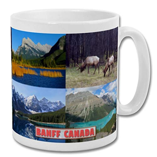 Banff Kanada Wildlife – Souvenir 295 ml Tasse