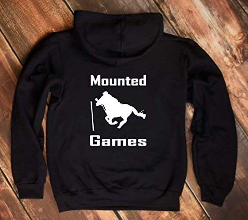 Hooded Jacket Kapuzenjacke Mounted Games Becherspiel