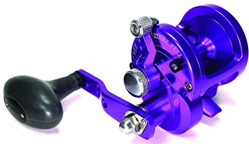 AVET Lever Drag Conventional Reel, Purple, SX (SX5.3P)