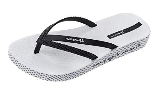 Ipanema Bossa Soft 21 Chanclas/Sandalias de Playa para Mujer-Black-35/36