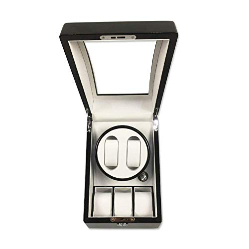 DHTOMC Watches Box Automatic Watch Winder,Mechanical Watch Shaker Watch Automatic Winding Box On The Spin Box Watch Storage Box,A (Color : B) Xping (Color : A)