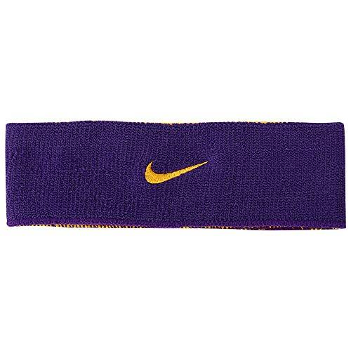 Nike Face Dri-Fit Home & Away Court Testeira Dupla, Roxo, Único