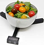 HeartsBio Food Weight Scale W1 - HeartsDiet Folding grams ounces oz small portable tare function for...