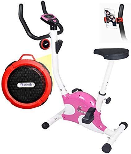Bicicleta estática para el hogar Bicicletas de Ciclismo de Interior con Altavoces Bluetooth...