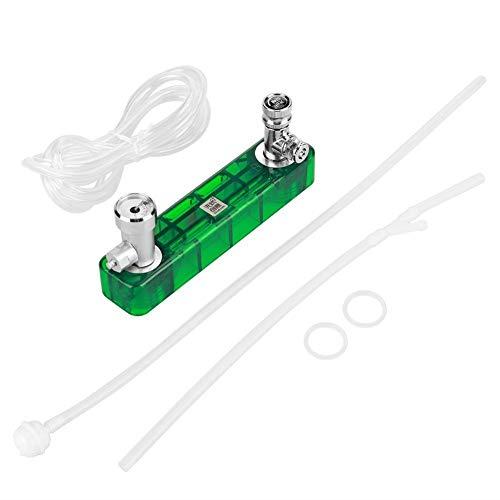 Belissy Kit de generador de CO2 DIY Eficaz con tubos para acuario mascotas y plantas