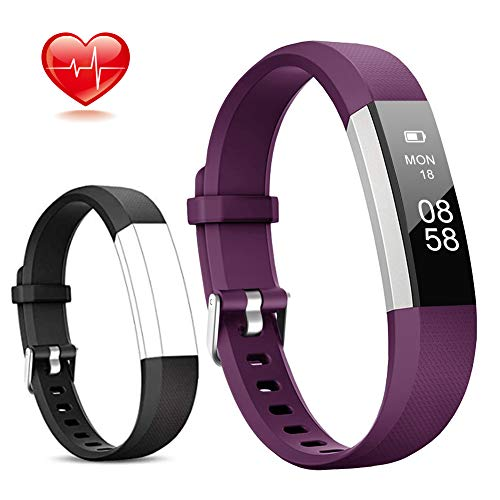 Lintelek Fitness Tracker, Slim Activity...