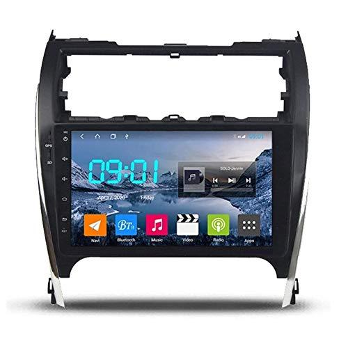 WY-CAR Unidad De Cabeza De Navegación GPS De 10,1 Pulgadas Player Multimedia para Toyota Camry US 2012-2014, Bluetooth Llamada De Manos Libres/FM/Enlace De Espejo/Cámara De Vista Trasera