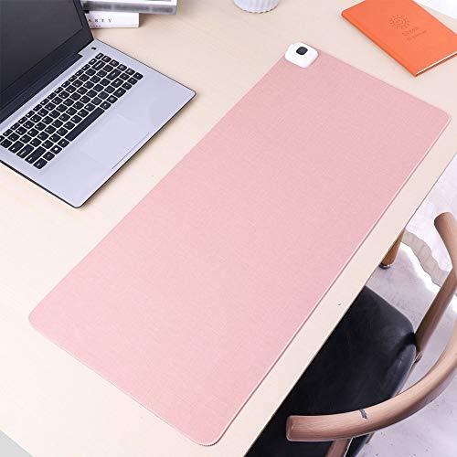 Liangzai Heizmaus-Pad, USB-Elektroheizung Pu-Leder rutschfeste Tischmatte, 35-50 ° C Einstellbare Temperatur & schnelle Erwärmung, für Computer Office & Spiele