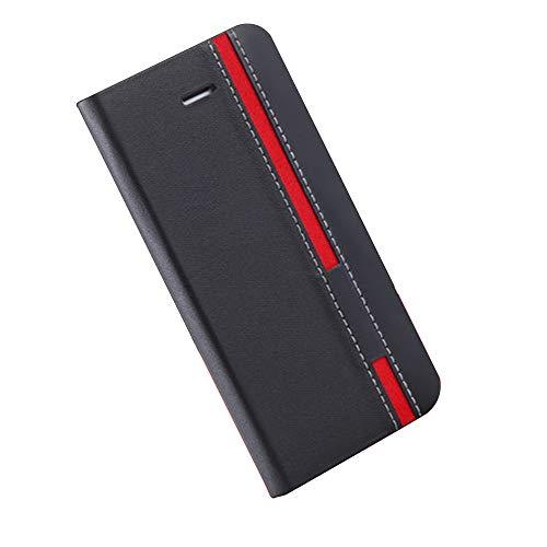 yueer für Oukitel K13 Pro Hülle Schutzhülle,mit [TPU Bumper] [Wallet Stand] für Oukitel K13 Pro Handyhülle schwarz
