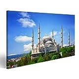 Bild Bilder auf Leinwand Sultan Ahmed Moschee (Blaue