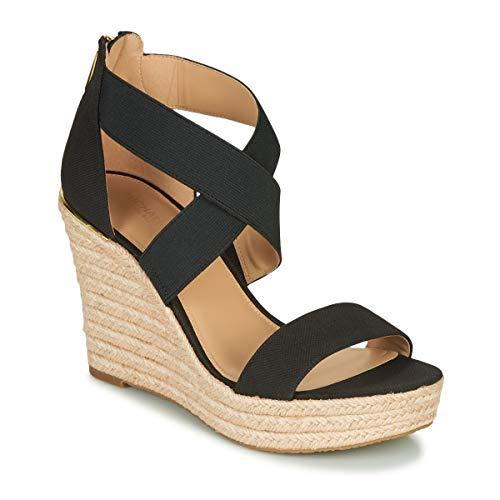 MICHAEL MICHAEL KORS PRUE WEDGE Sandalen/Open schoenen dames Zwart Sandalen/Open schoenen
