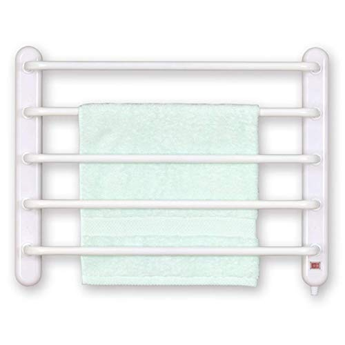 Towel Radiator,Electric Straight Towel Rail, Electric Towel Rack European Style Wall-Mounted Electric Drying Towel Bath Towel Sterilization And Dehumidification Simple Design Suitable For Bathroom