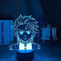アクリル3DイリュージョンLEDナイトライトランプ帆船カラフルな家の装飾ライトUSB電池式ナイトライト