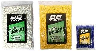 Sponsored Ad - BBTac Airsoft BB 11,000 Round 0.12g 6mm BBS for Airsoft Guns Ammo Pallet (5000 x2 Bag + 1000 Bag)