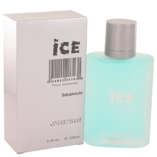 Sakamichi Ice Eau De Parfum Spray for Men, 3.4 Ounce