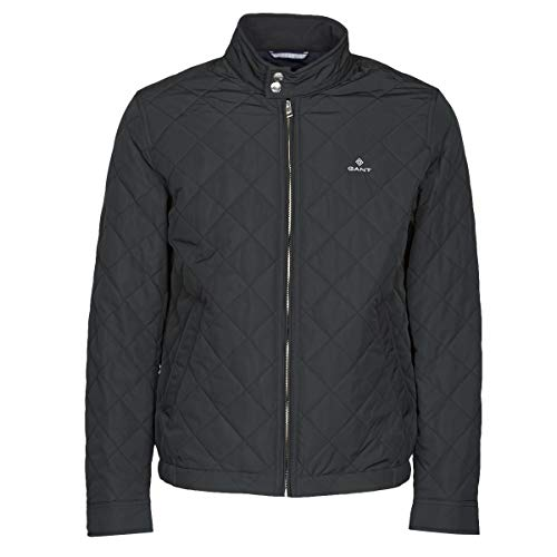 GANT THE QUILTED WINDCHEATER Jacks/Blazers heren Zwart - S - Wind jackets