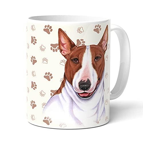 Power Gift Bull Terrier - Taza con texto en inglés 'Dog and Women's Animal Crossing' - Para ti, texto divertido, Navidad, taza personalizada, taza de café grande