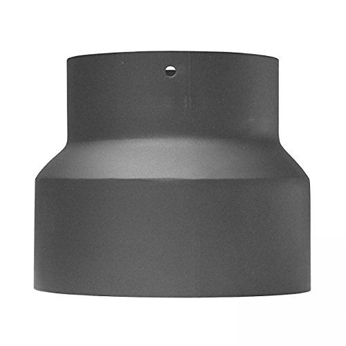 raik SH013-009-gg Rauchrohr/Ofenrohr Reduzierung 150mm - 130mm gussgrau