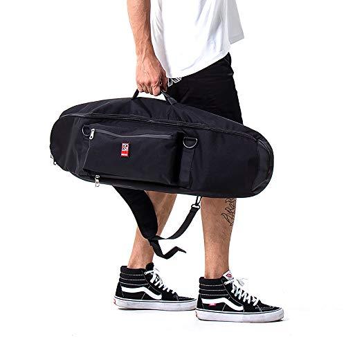 FMAFN スケートボードリュック スケボーケース クルーザーボード用 バッグ デッキ収納袋 多機能 耐摩耗 小...