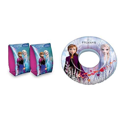 Lively Moments Schwimmflügel und Schwimmring mit Disneys Frozen Anna und ELSA