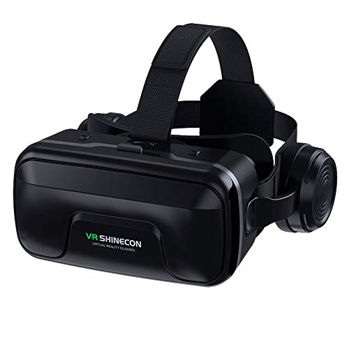 VR Headset Compatible with iPhone & Android Phone-Virtual Reality Headsets Google Cardboard VR7.0