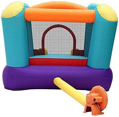 Piscina inflable, castillos hinchables Inicio Niños Zona de juegos inflable Trampolín interior Piscina de bolas oceánicas Valla de juego de tobogán para niñas y niños al aire libre (Color: Color, Ta