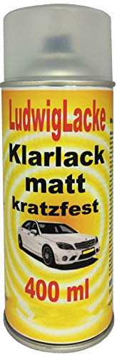 KLARLACK 1 Spraydose MATT 400ml Autolack Qualität von Ludwiglacke