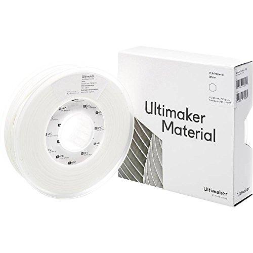 Ultimaker Filament PLA - M0751 White 750 - 211399 PLA 2.85 mm bianco 750 g