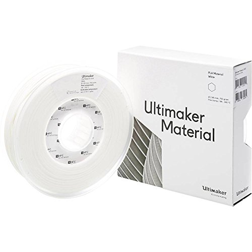 Ultimaker Filament PLA - M0751 White 750 - 211399 PLA 2.85 mm bianco 750 g