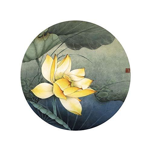 WSNDGWS Estilo Chino, Lotus, decoración del hogar, Pintura de Lienzo, sin Marco de Imagen B2 30x30cm