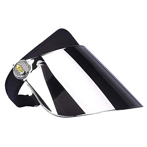 Esenlong Sombrero con protección UV y parasol ajustable, de alta calidad, UPF 50, para ciclismo, correr, camping, pesca, senderismo, observación, juegos y muchas otras actividades al aire libre