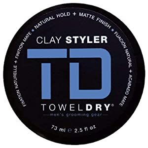 Beauty Shopping TowelDry Clay Styler – 2.5 Ounce (73 ml)