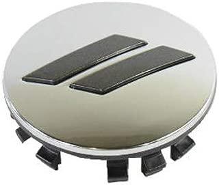DODGE CHALLENGER CHARGER Chrome & Gloss Gray Stripe Wheel Center Cap Set Of 4