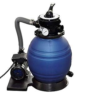 vidaXL 1/2x Sistema de Filtración Arena Filtrante 11000 L Bomba Piscina Filtro