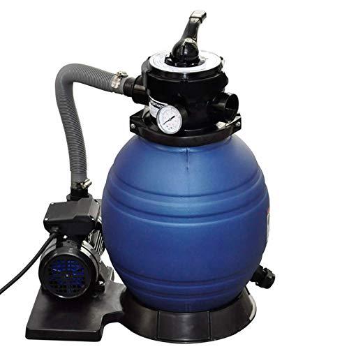 vidaXL Sandfilteranlage mit Pumpe 400W 11000L/h Pool Sandfilter Filterkessel