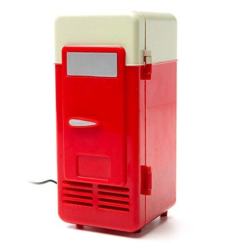 Satzuma UMF100 - Nevera con USB, Color Rojo