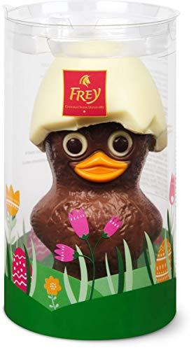 Calimero en chocolat au lait Frey 120g / 14cm - chocolat suisse certifié UTZ - Figurine en chocolat pour Pâques