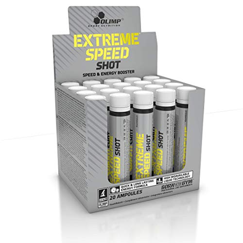 Olimp Flavourless 25ml Extreme Speed Shot - Pack of 20 Shots