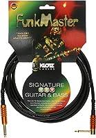 KLOTZ クロッツ Signature Bass Guitar FunkMaster Series シールドケーブル (TM-R0300 3mストレート/L型)