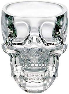 1 pc Doomed Skull Glass Wine mug Beer Glasses Shot Crystal Skull Head Vodka Shot Wine Novelty Cup