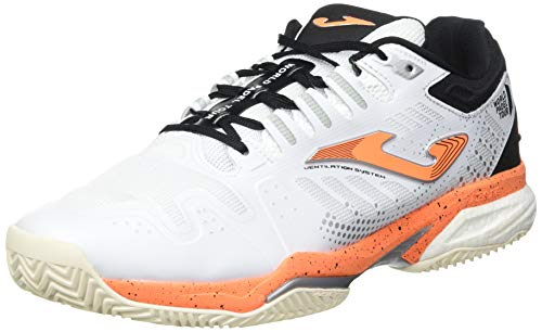 Joma Slam, Zapatos de Tenis Hombre, Blanco, 40 EU