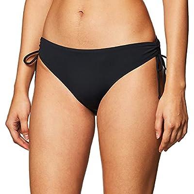 Roxy Women's Standard Solid Beach Classics Full Bikini Bottom, Anthracite 211, M