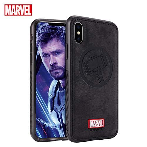 TinPlanet Marvel Avengers Endgame iPhone Xs Case/iPhone X Case, Iron Man (Red)