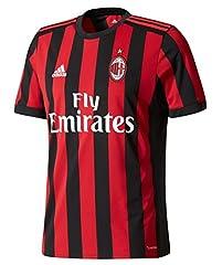 Adidas Camiseta AC Milan 1ª Equipación 2017/2018 Hombre