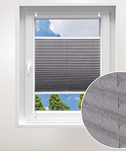 Laneetal plisségordijn zonder boren geplooide stof geplooide schaduw voor raam met hulpstukken eenvoudige bevestiging