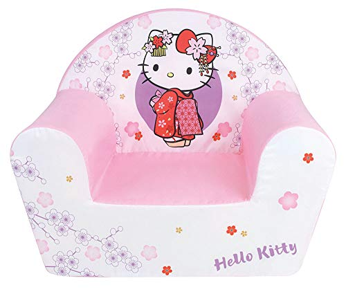 Fun House Divertente casa di Hello Kitty, Club, per Bambini, Tessuto, Bianco