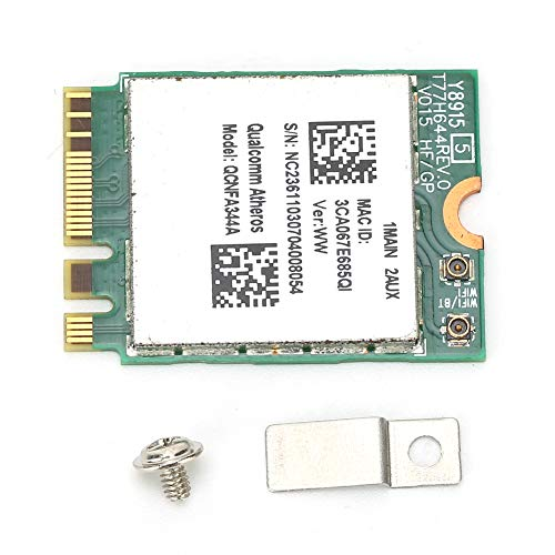Dual‑Band Wireless Network Card,WiFi Bluetooth Chip Model Wirefree Adapter QCNFA344A