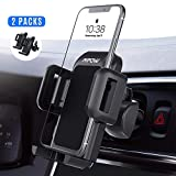 Mpow (2 Packs) Air Vent Car Phone Mount, Three-Level Adjustable Car Phone Holder